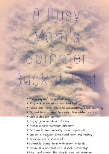Mom's Summer Bucket List