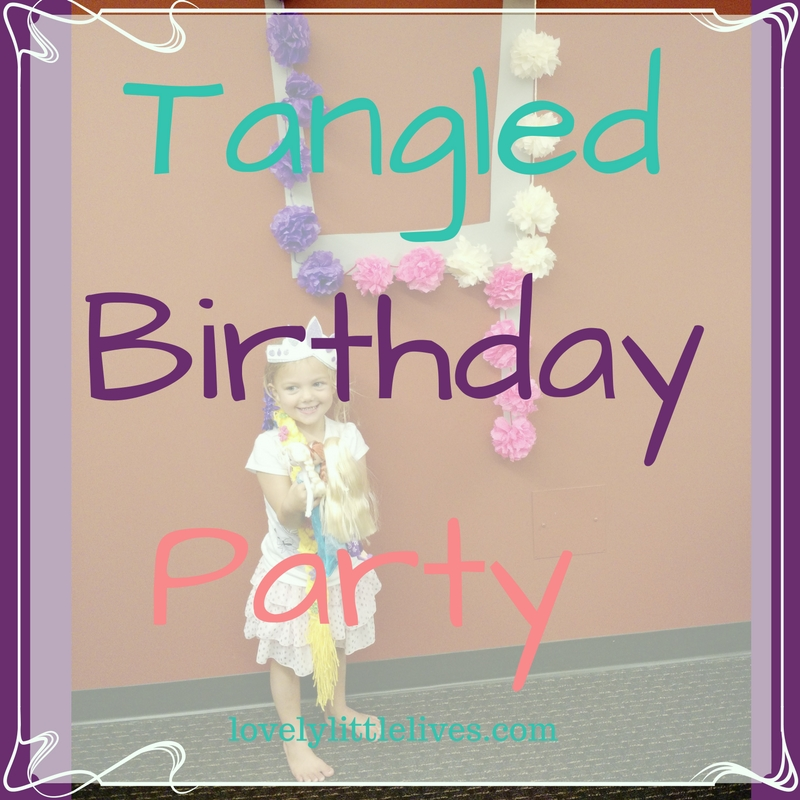 Tangled birthday party with tutorials, printables and more